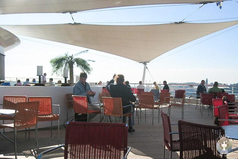 Abschluss an der Bar auf der AIDA in Mallorca