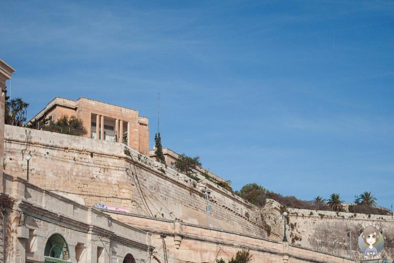 Blick Hafen Valletta