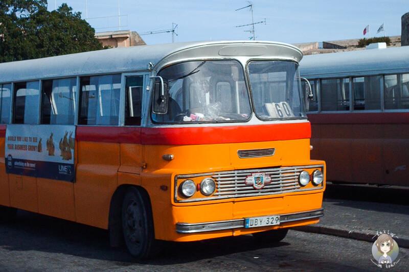 Bus Valletta Malta
