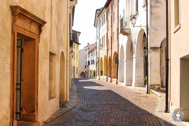 Malerisches Zentrum von Conegliano