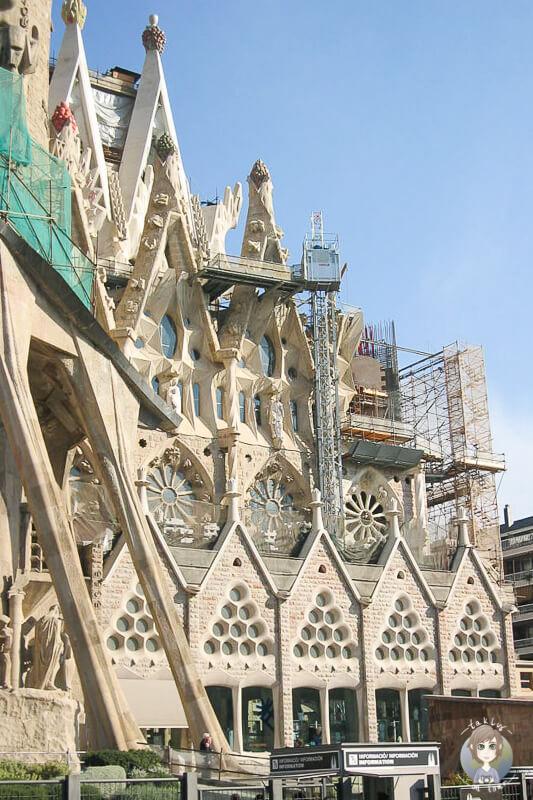 Details Sagrada Familia Barcelona