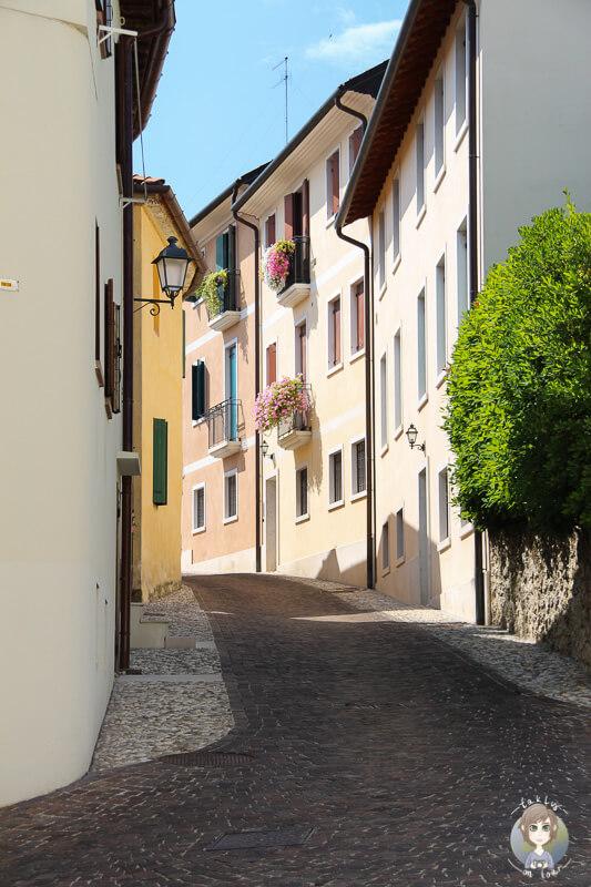 Gasse Conegliano Zentrum