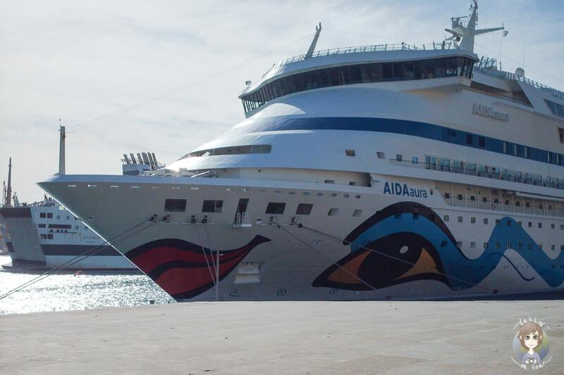 Hafen AIDA Malta