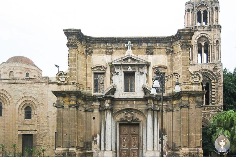 Die Kirche La Martorana auf unserer Fuehrung mit AIDA in Palermo