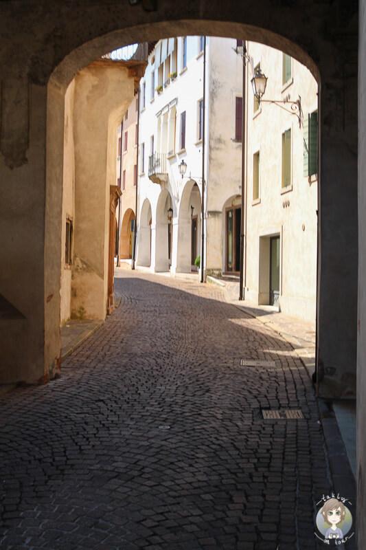 Malerische Gasse Conegliano