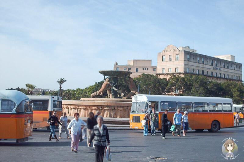 Marktplatz Valletta Bus