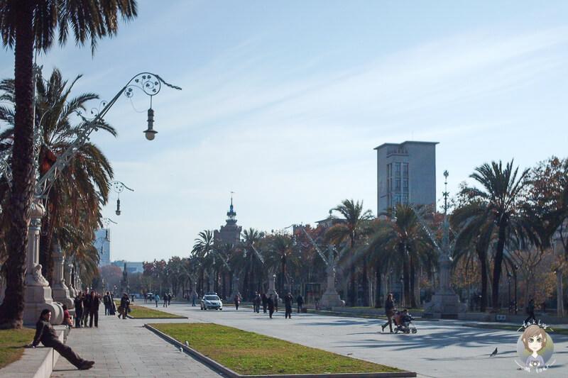 Platz Arc de Triomf
