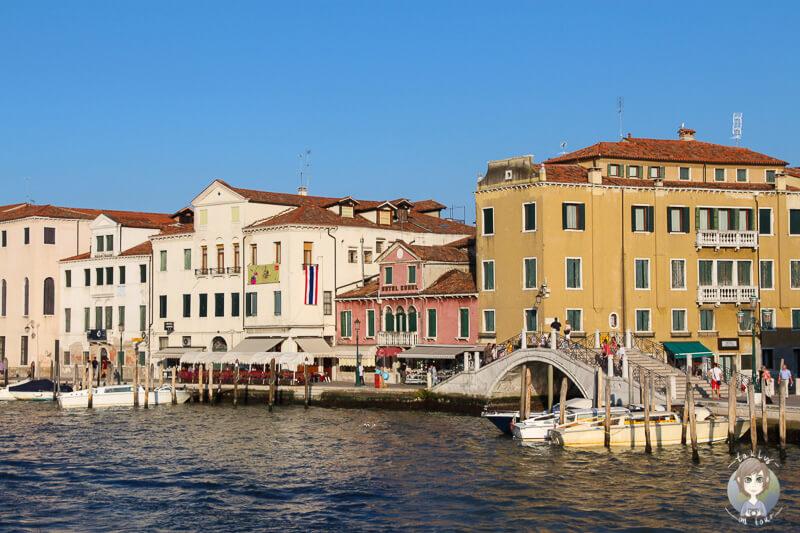 Auf unserer Rueckreise in Venedig