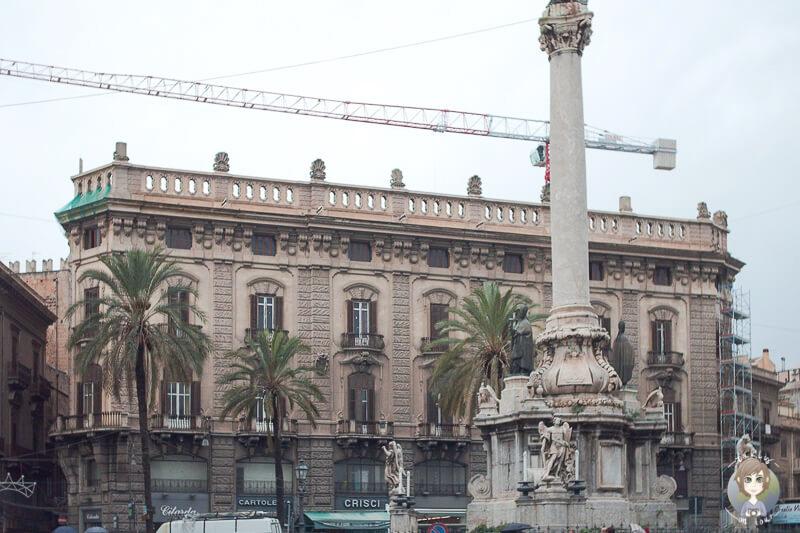 Ein schönes Gebaeude in Palermo