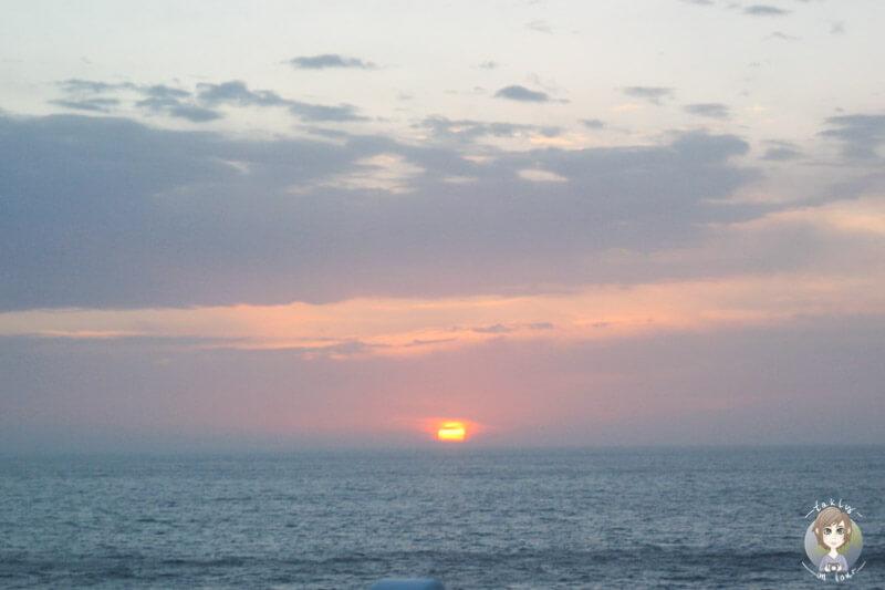 Sonnenaufgang AIDA Malta