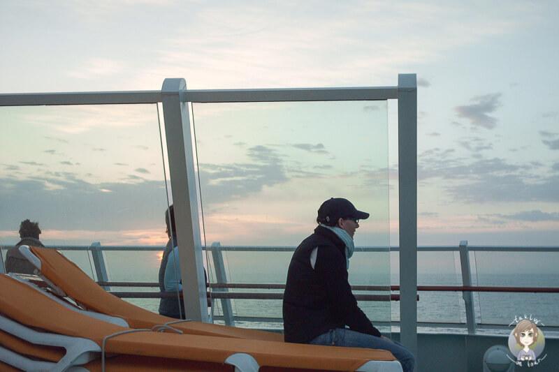 Sonnenaufgang Kreuzfahrt Mittelmeer