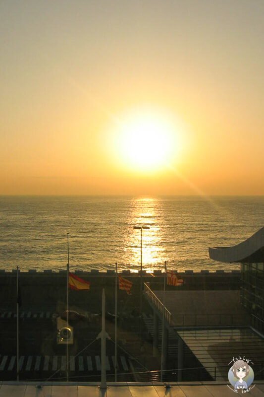 Sonnenuntergang Barcelona