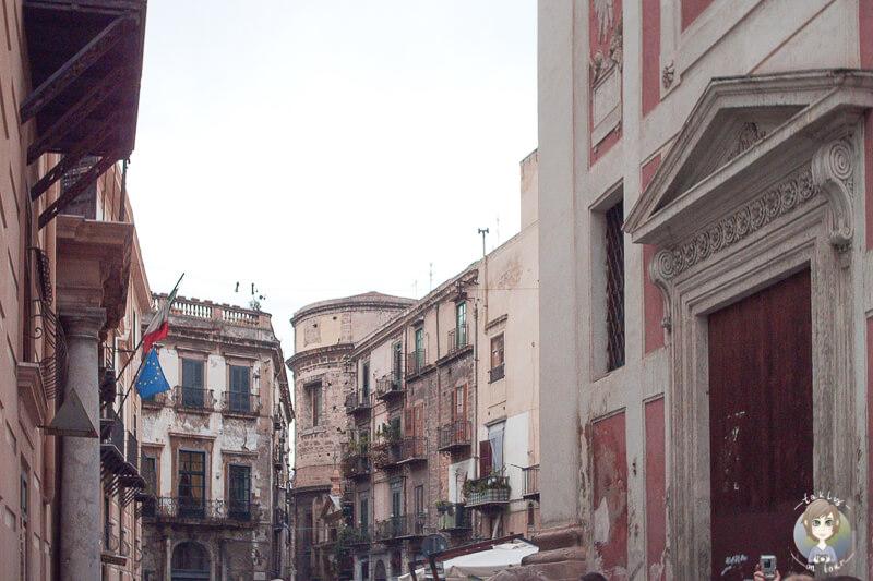 In den Straßen von Palermo