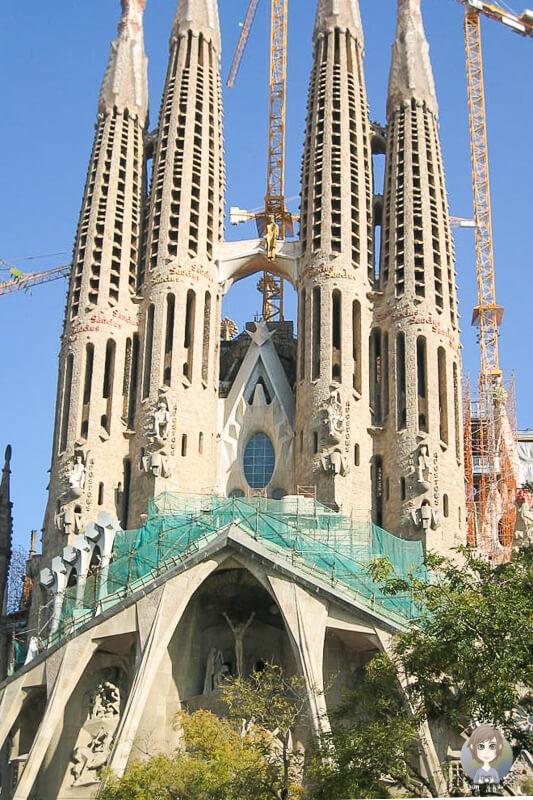 Tuerme Sagrada Familia Gaudi