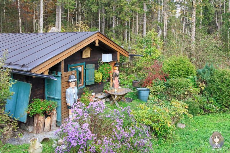 Kiosk im Zauberwald am Hintersee in Ramsau