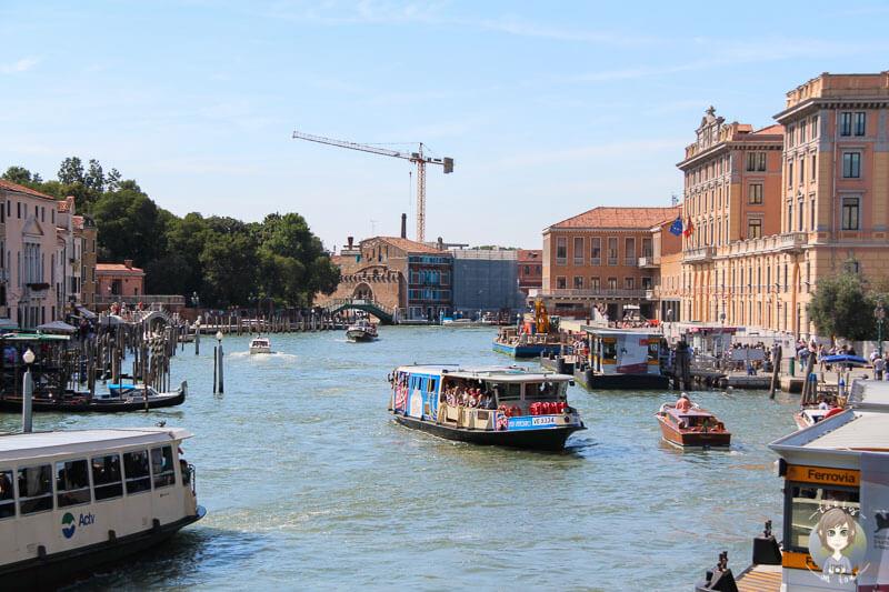 Blick über den Canal Grande