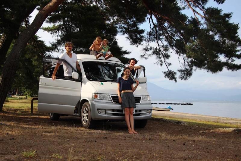 Roadtrip mit einem Campervan durch Japan mit Camping