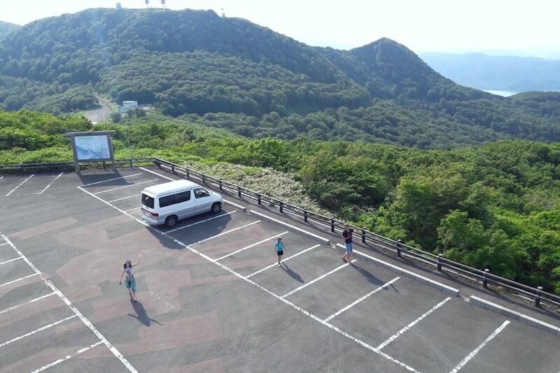 Camping in Japan mit einem Campervan auf Parkplaetzen uebernachten
