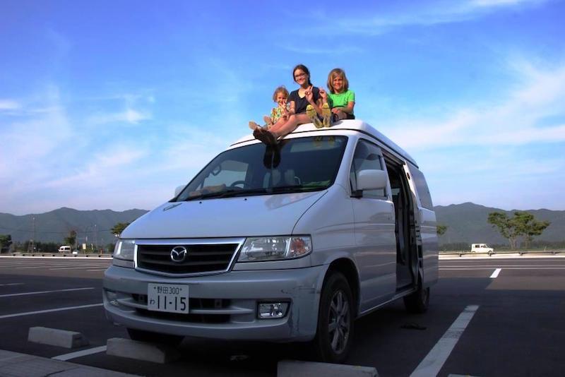 Camping in Japan • Ein Campervan Roadtrip mit Kindern
