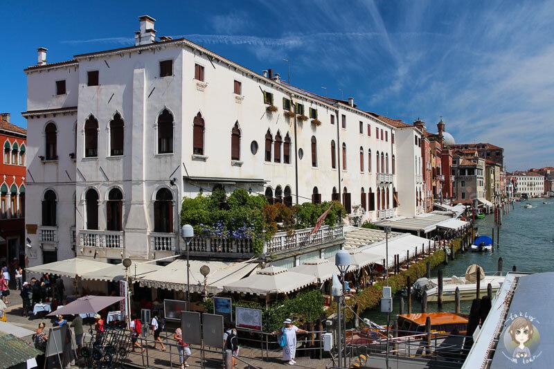 Sehenswerte Gebäude am Canal Grande