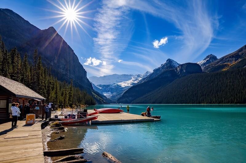 Kanada Reisen zum Lake Louise