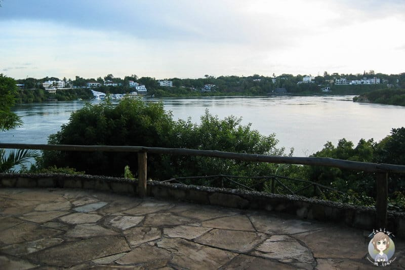 Aussicht von der Dhow Anlegestelle