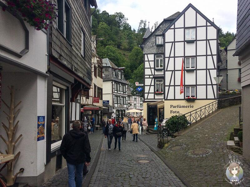Innenstadt von Monschau