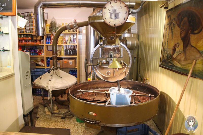 Eine der besten Kaffeeröstereien in Venedig