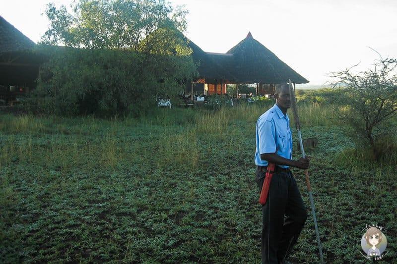 Mit den Massai auf Frühpirsch im Tsavo Nationalpark