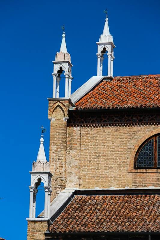 Eine unscheinbare Kirche in Venedig