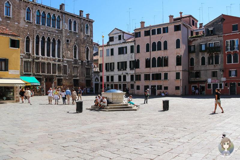 Der Platz Santo Stefano in Venedig