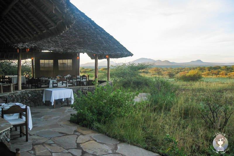 Das Severin Safari Camp am Morgen