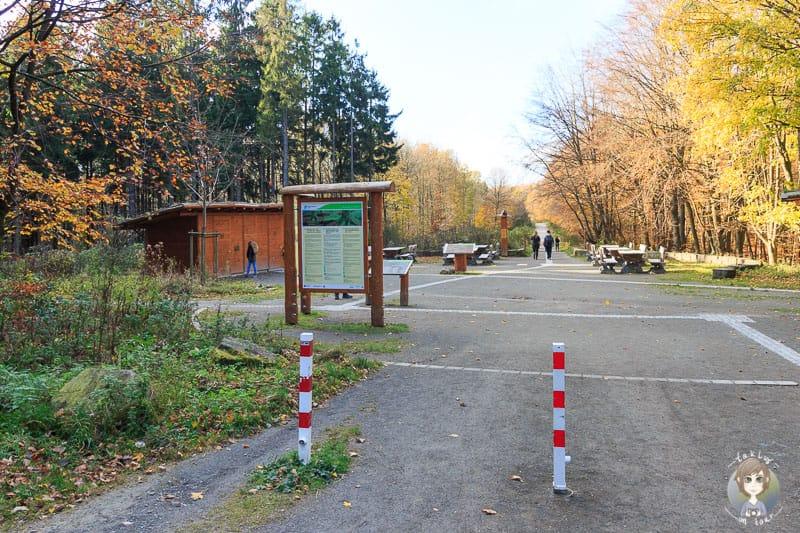 Start und Rastplatz vom Wanderweg Wilder Kermeter