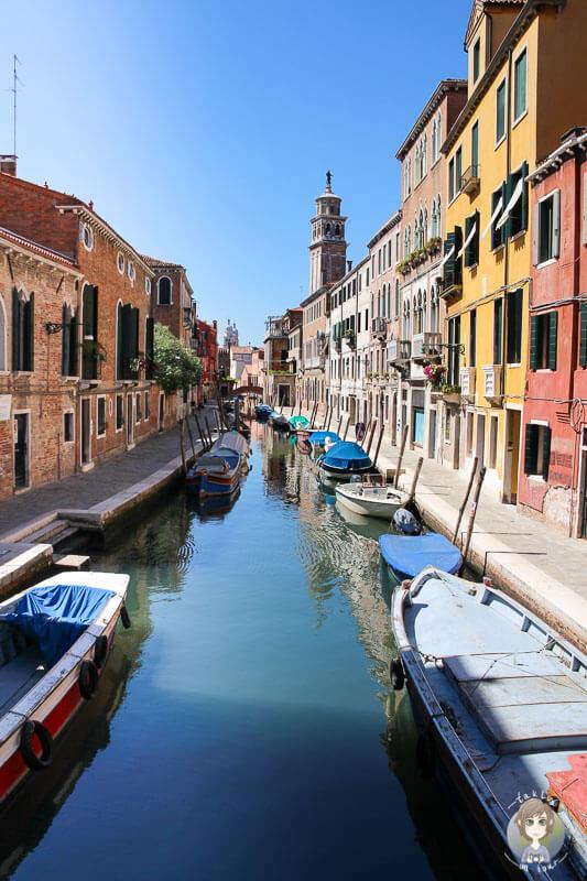 Auf unserem Tagesausflug in Venedig