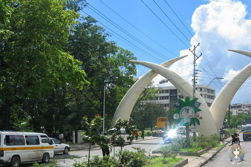 Das Wahrzeichen von Mombasa