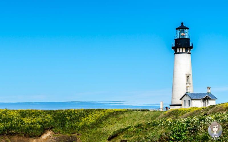 Yaquina Head Lighthouse nördlich von Newport in Oregon zählt zu unseren Westküste USA Tipps