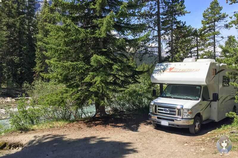 Es gibt für jedes Bedürfnis die richtigen Campingplätze in Kanada