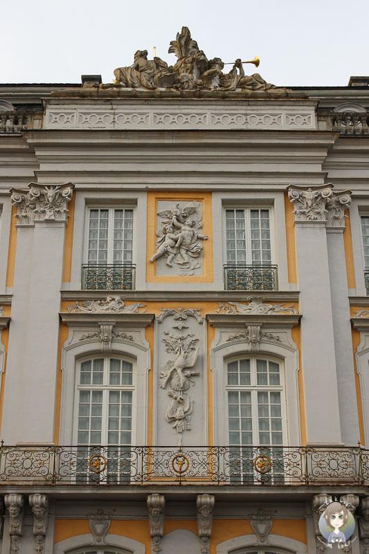 Figuren am Schloss Augustusbrug in Brühl