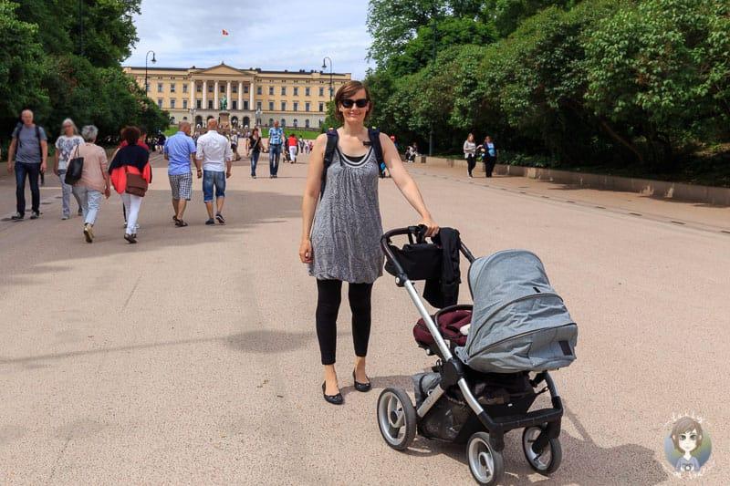 Barrierefreies Schlossgelände in Oslo