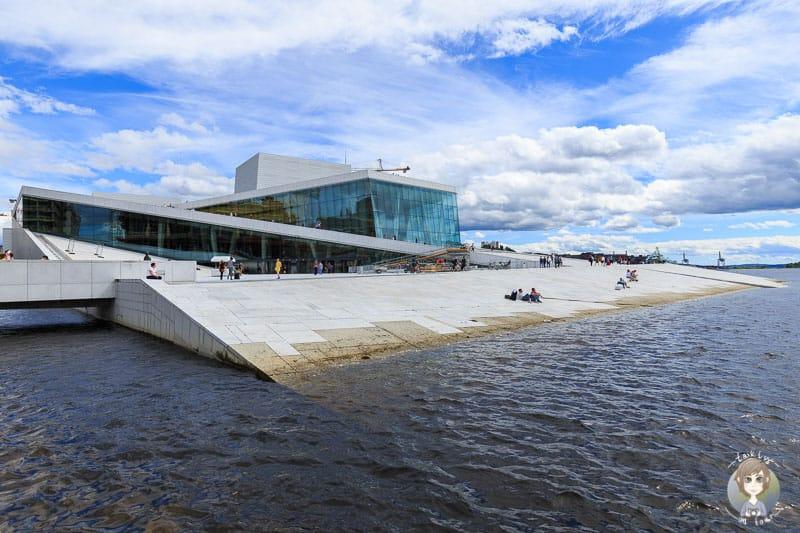 Die sehenswerte Oper von Oslo