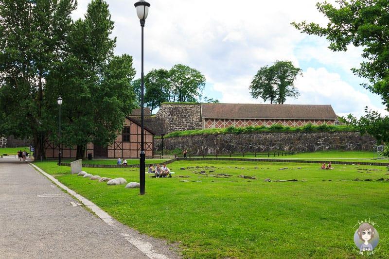 Der Park Kontraskjæret in Oslo