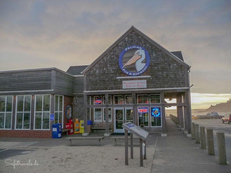 Die Pelican Pub Brewery Cape Kiwanda Westkueste USA Tipps <i>Foto: ©Silke Weidemann & Markus Ramm</i>