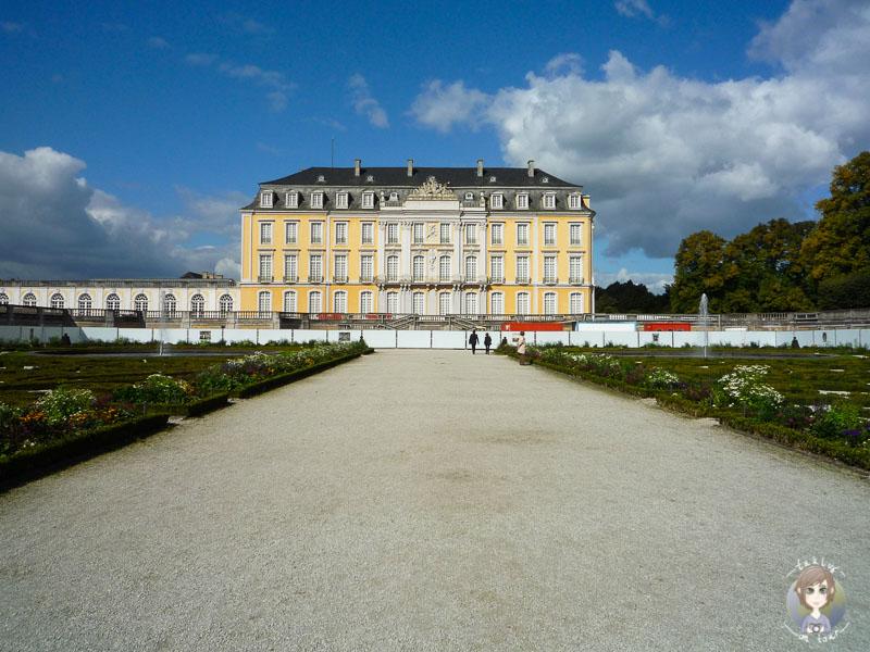 Schloss Brühl im Sommer