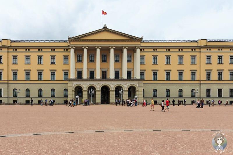 Das sehenswerte Schloss in Oslo