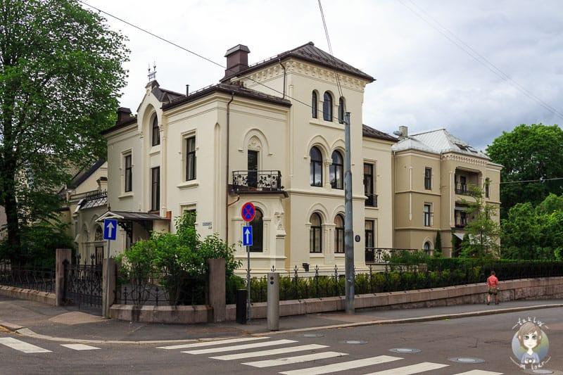 Ein sehenswertes Gebäude in Oslo