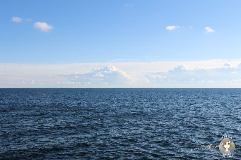 Sonne auf unserem Seetag mit der AIDA im Mittelmeer