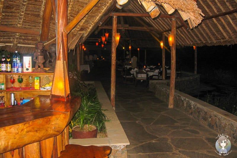 Abends im Severin Safari Camp