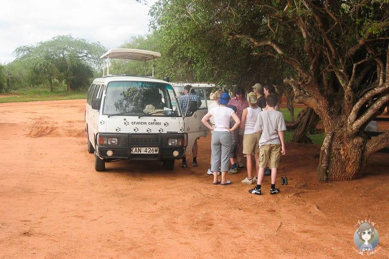 Eine Rast auf unserer Kenia Safari
