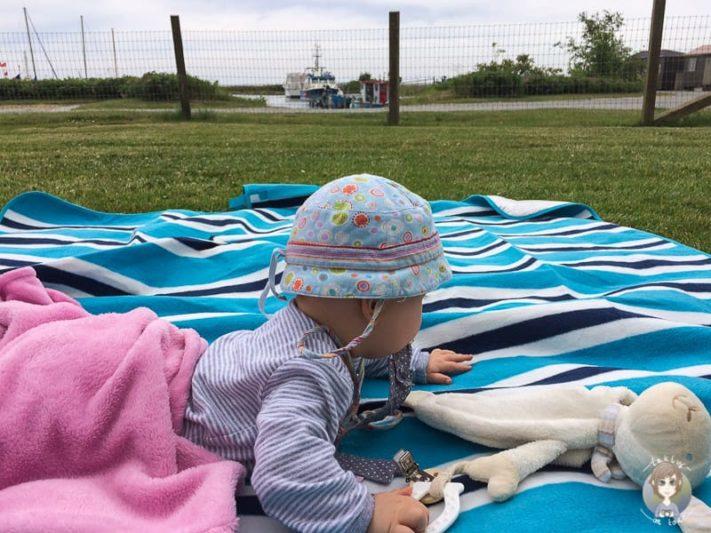 Camping mit Baby in Dänemark