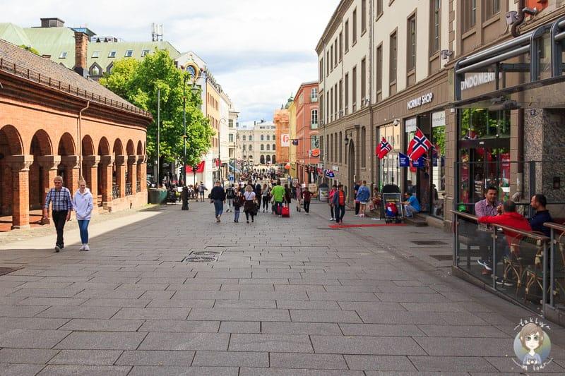 Die Innenstadt von Oslo
